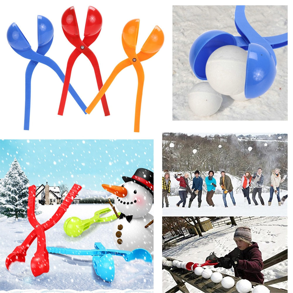 Cute Outdoor Plastic Kid's Snow Ball Maker