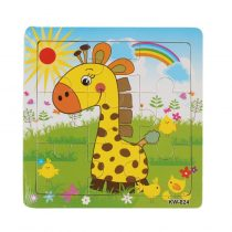 Entertaining Educational Wood Kid's Jigsaw