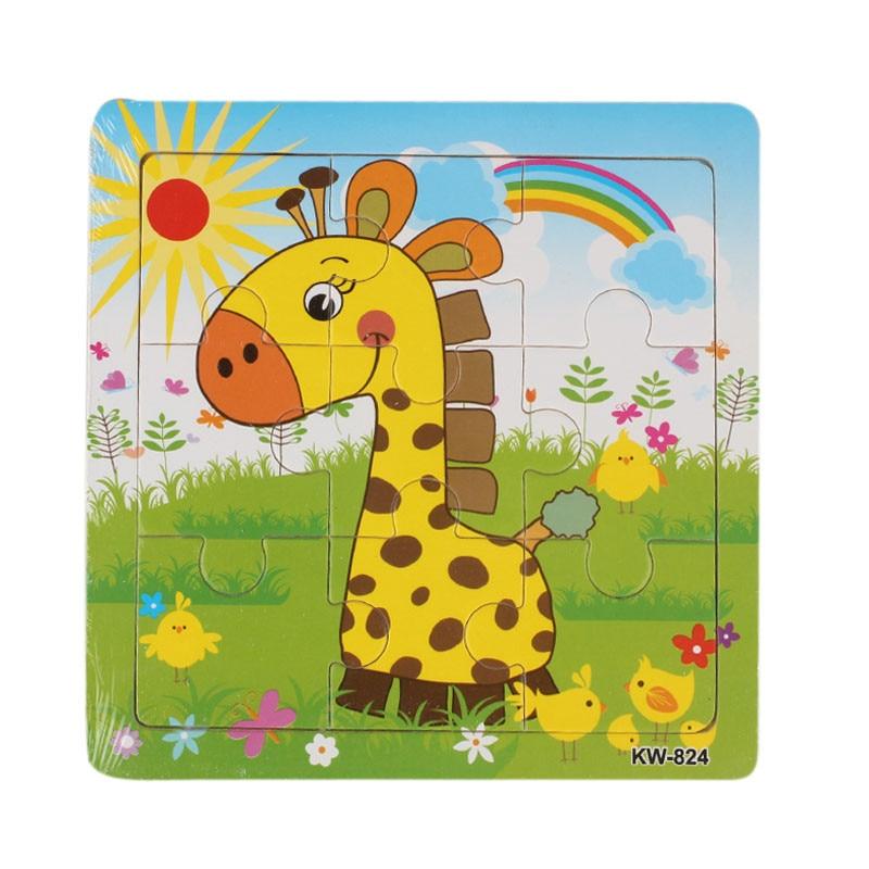 Entertaining Educational Wood Kid's Jigsaw