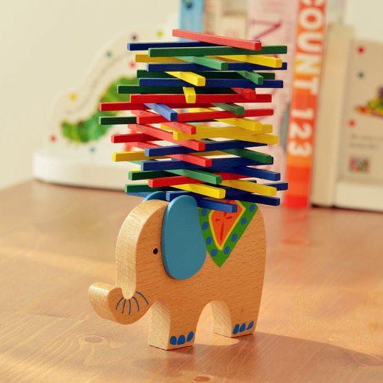 Baby Elephant/Camel Wooden Balancing Blocks